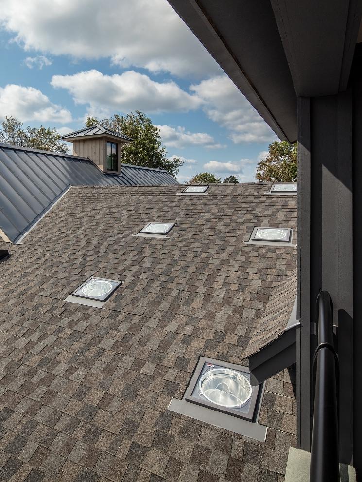 Roof suntunnels